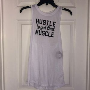 Hustle to Get That Muscle Muscle Tee